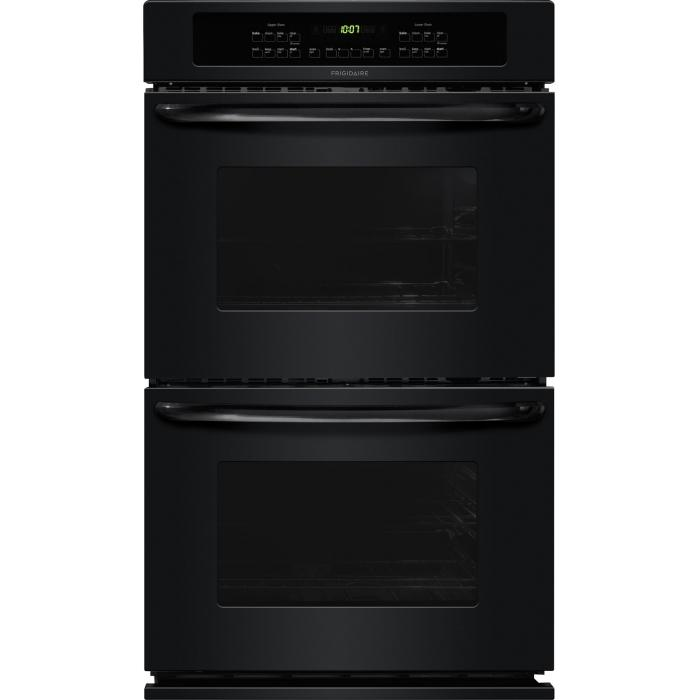 "Frigidaire Electric Wall Ovens 30"" Built-In Double Electric Wall Oven - Item Number: FFET3025PB"