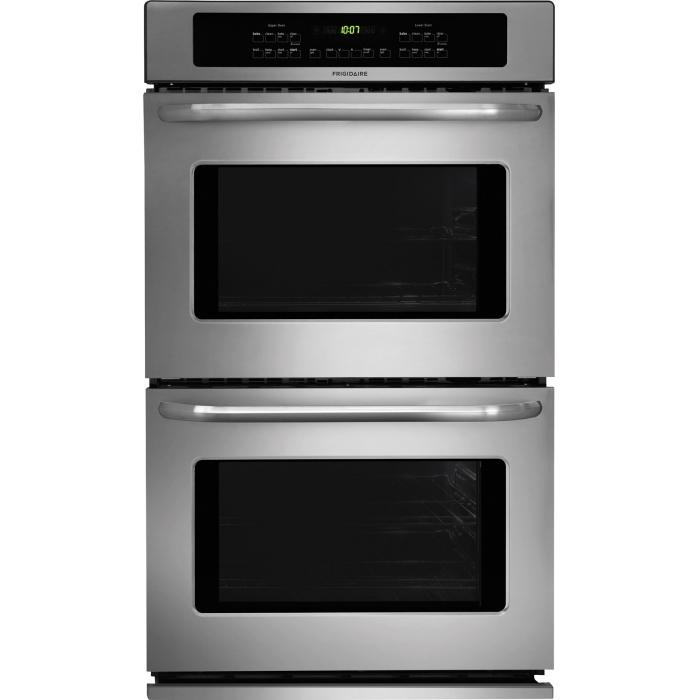 "Frigidaire Electric Wall Ovens 30"" Built-In Double Electric Wall Oven - Item Number: FFET3025PS"