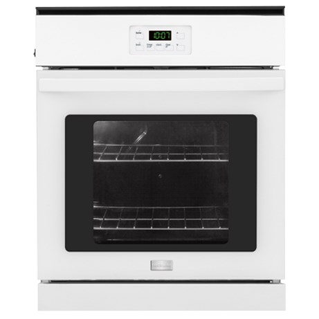 "Frigidaire Electric Wall Ovens 24"" Single Electric Wall Oven - Item Number: FFEW2415QW"