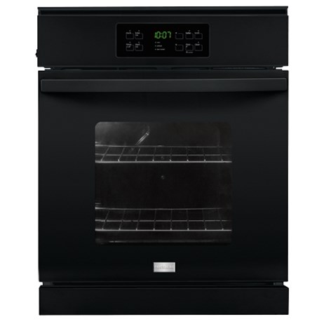 "Frigidaire Electric Wall Ovens 24"" Single Electric Wall Oven - Item Number: FFEW2425QB"