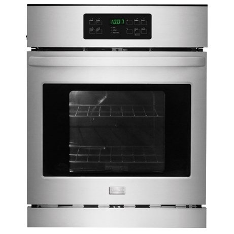 "Frigidaire Electric Wall Ovens 24"" Single Electric Wall Oven - Item Number: FFEW2425QS"