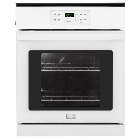 "Frigidaire Electric Wall Ovens 24"" Single Electric Wall Oven - Item Number: FFEW2425QW"