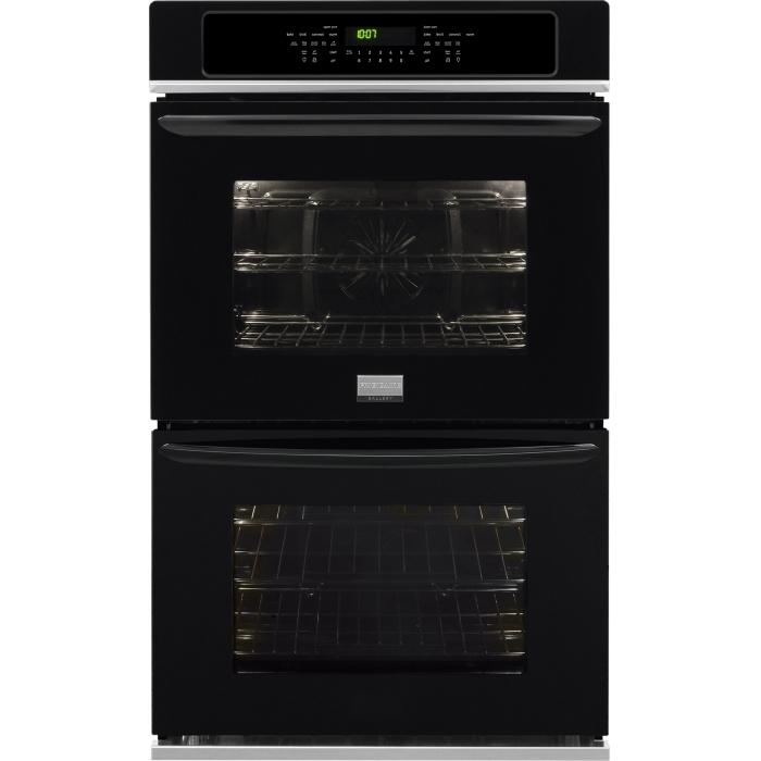"Frigidaire Frigidaire Gallery Ovens 27"" Built-In Double Electric Wall Oven - Item Number: FGET2765PB"