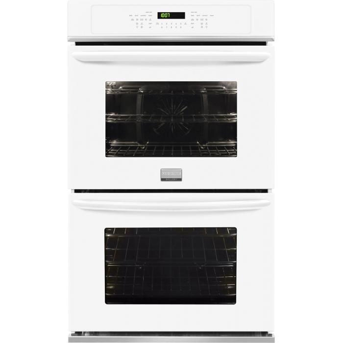 "Frigidaire Frigidaire Gallery Ovens 27"" Built-In Double Electric Wall Oven - Item Number: FGET2765PW"