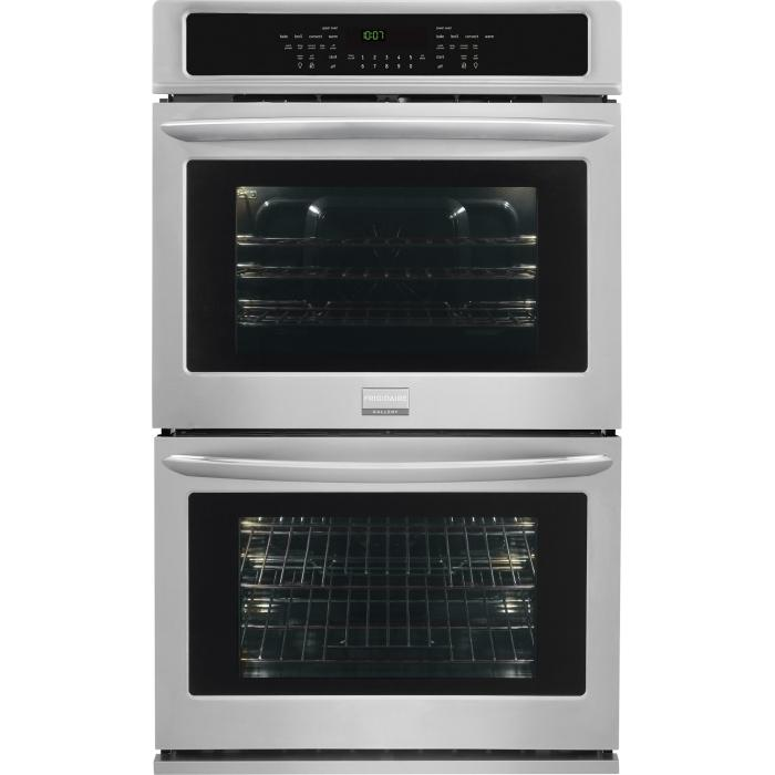 "Frigidaire Frigidaire Gallery Ovens 30"" Built-In Double Electric Wall Oven - Item Number: FGET3065PF"