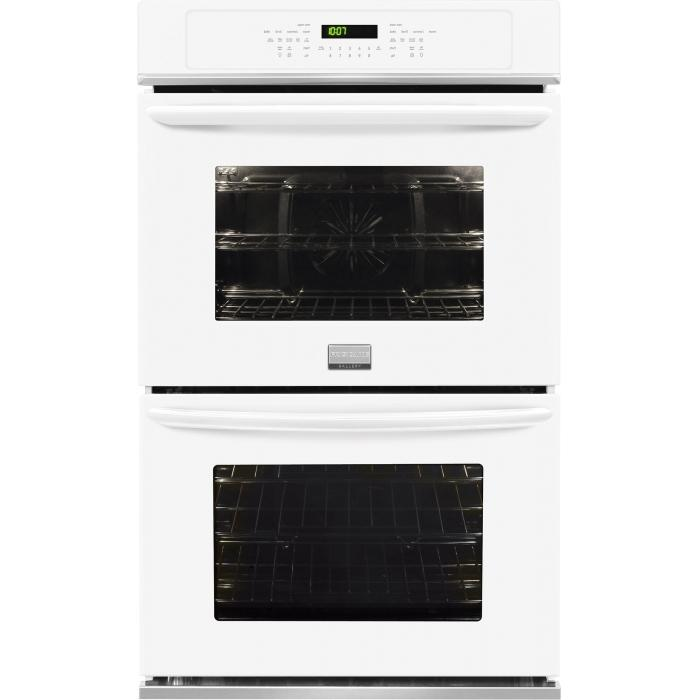 "Frigidaire Frigidaire Gallery Ovens 30"" Built-In Double Electric Wall Oven - Item Number: FGET3065PW"