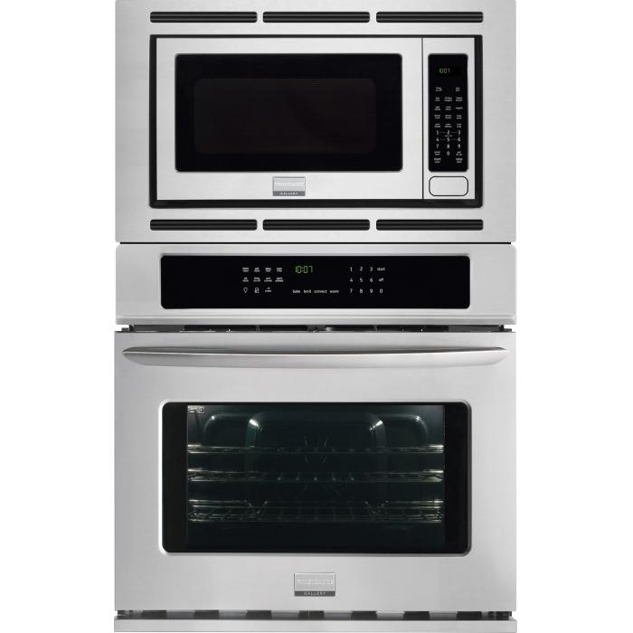 Frigidaire Frigidaire Gallery Ovens Gallery 27'' Electric Wall Oven/Microwave  - Item Number: FGMC2765PF