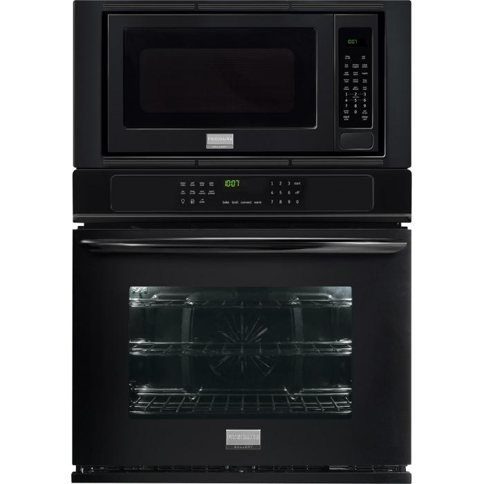 Frigidaire Frigidaire Gallery Ovens Gallery 30'' Electric Wall Oven/Microwave  - Item Number: FGMC3065PB
