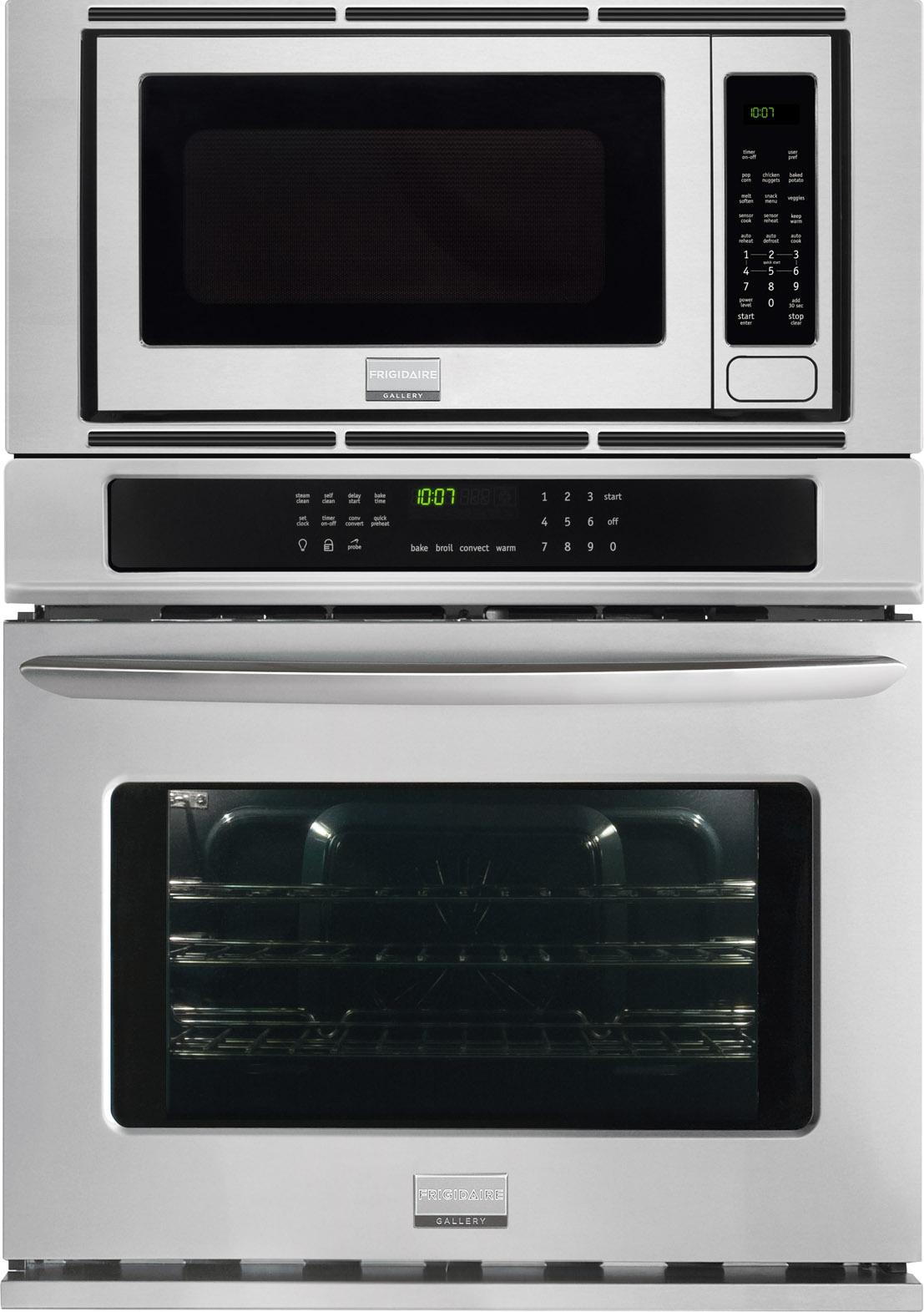 Frigidaire Frigidaire Gallery Ovens Gallery 30'' Electric Wall Oven/Microwave  - Item Number: FGMC3065PF