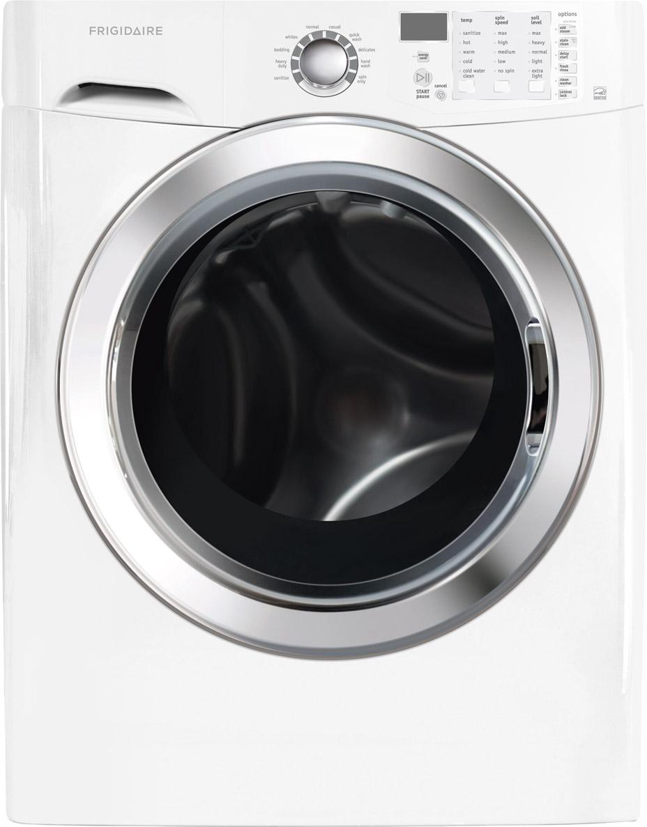 Frigidaire Washers 3.9 Cu. Ft. Front Load Washer - Item Number: FFFS5115PW
