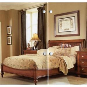 Furniture Brands, Inc. B3022 Elegant King Platform Bed