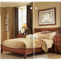 Furniture Brands, Inc. B3022 Elegant King Platform Bed - Bed Shown May Not Represent Size Indicated