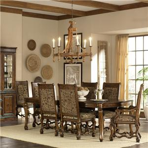 7 Piece Dining Table and Chairs