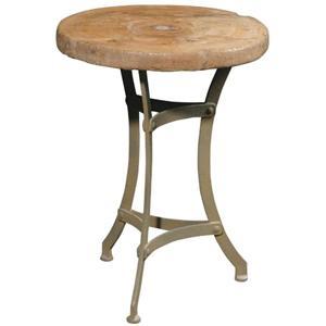 Furniture Classics    Wagon Wheel Accent Table