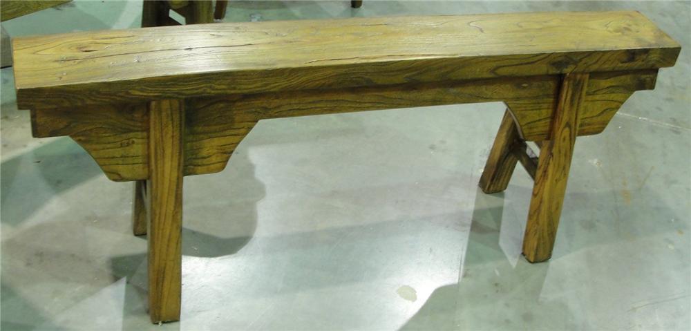 Furniture Classics Clearance Antique 'Peasant' Bench - Item Number: 710895172
