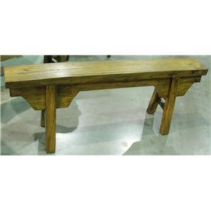 Furniture Classics    Antique 'Peasant' Bench