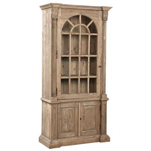 Furniture Classics Accents Arched Pine Bookcase