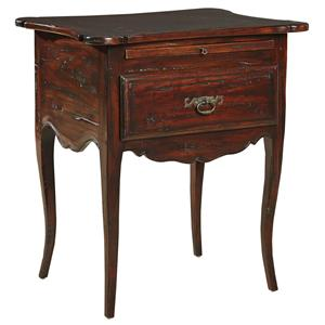 Furniture Classics Accents Rochelle Side Table w/ Plank Top