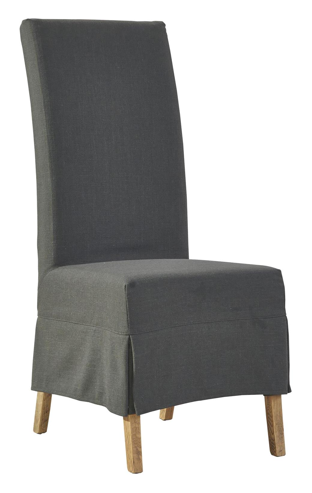 Furniture Classics Accents Linen Slip Covered Parsons Chair - Item Number: 70018S