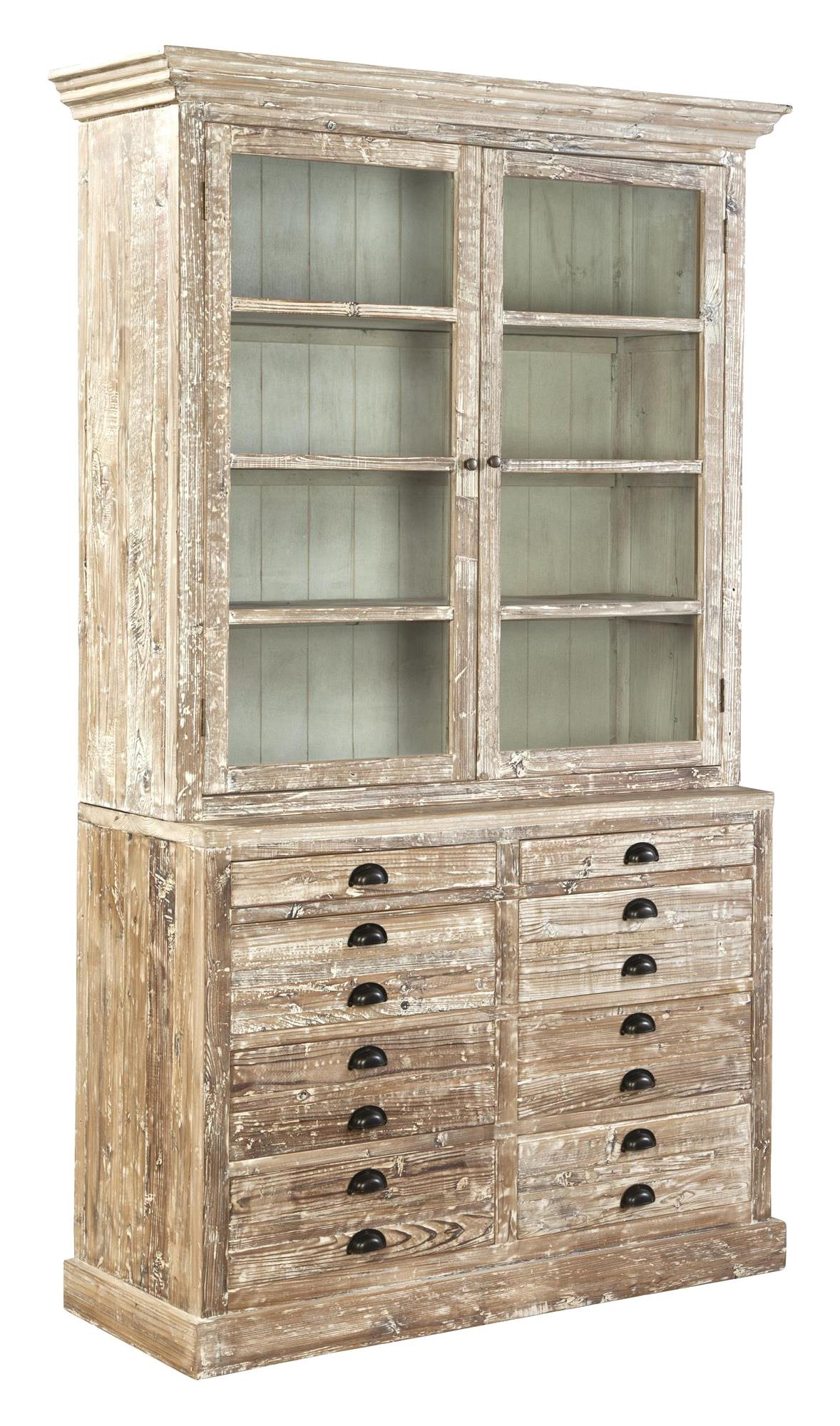 Apothecary Bookcase or China Cabinet