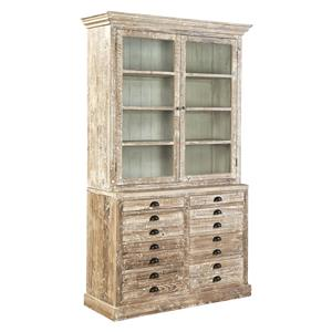 Furniture Classics Accents Apothecary Bookcase or China Cabinet