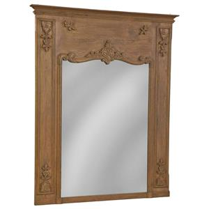 Furniture Classics Accents Carved Reclaimed Mirror