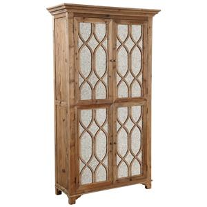 Furniture Classics Accents Antique Mirror Cabinet