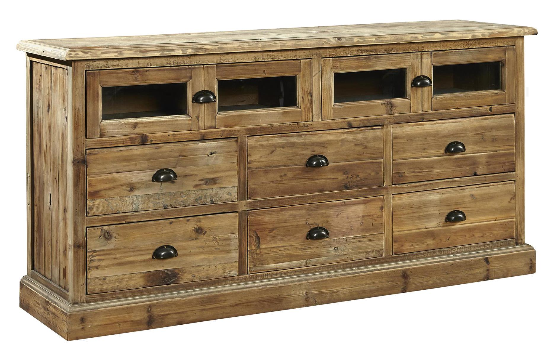 Furniture Classics Accents Old Fir Entertainment Unit - Item Number: 71321