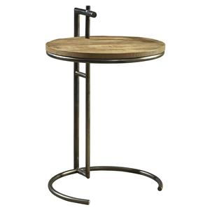 Furniture Classics Accents Round Side Table w/ Handle