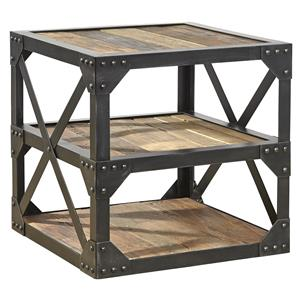 Furniture Classics Accents Bleecker Recycled Side Table