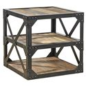 Furniture Classics Accents Bleecker Recycled Side Table - Item Number: 72033