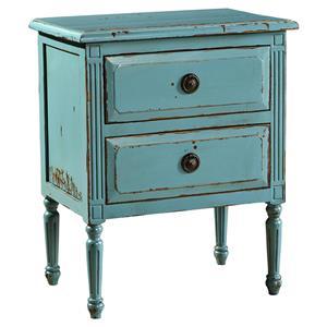 Furniture Classics Accents Petite Jolie Chest, Distressed Blue