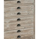 Furniture Classics Accents Reclaimed Wood Small Apothecary Chest