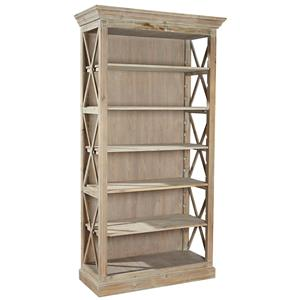 Furniture Classics Accents Weathered Open Bookcase