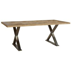 Furniture Classics Accents Stainless Crossleg Desk
