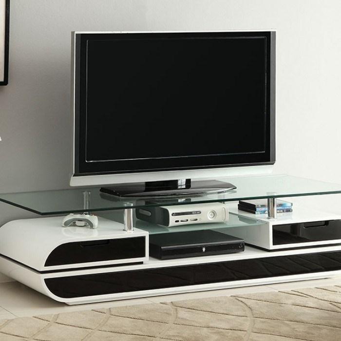 Evos TV Console by Furniture of America at Nassau Furniture and Mattress