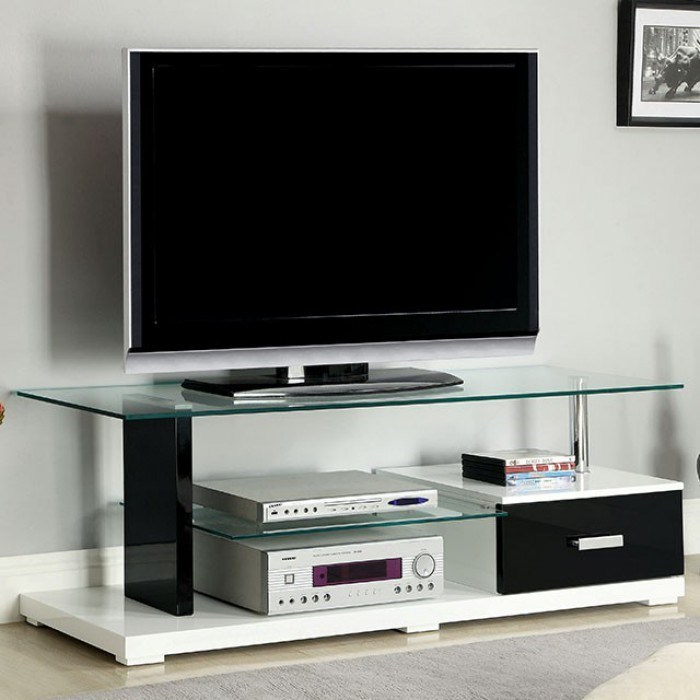 Egaleo TV Console by Furniture of America at Dream Home Interiors