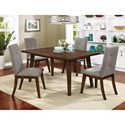 Furniture of America Abelone Table + 6 Chairs - Item Number: CM3354T-7PC
