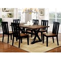 FUSA Alana Dining Set - Item Number: CM3668T-7PC