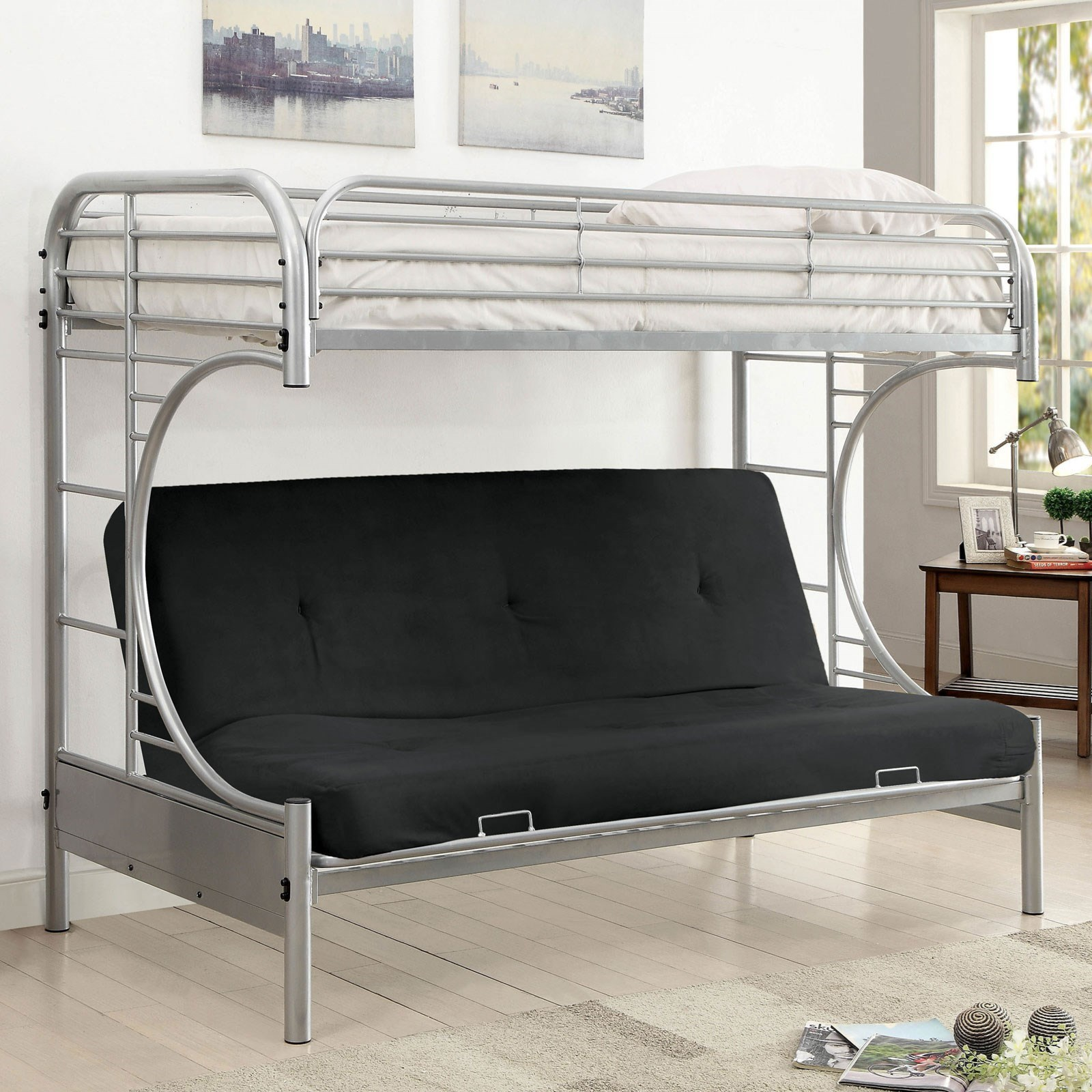 Alanna Metal Bunk Bed at Household Furniture