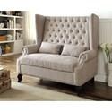 FUSA Alcacer Love Seat Bench - Item Number: CM-BN6223BG