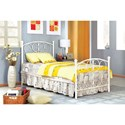 FUSA Alice Twin Bed - Item Number: CM7706WH