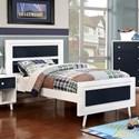 FUSA Alivia Full Bed - Item Number: CM7850BL-F-BED