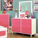 FUSA Alivia Dresser - Item Number: CM7850PK-D