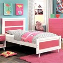 FUSA Alivia Twin Bed - Item Number: CM7850PK-T-BED