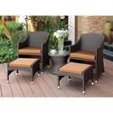 FUSA Almada 3 Pc. Patio Chair Set - Item Number: CM-OT2550-3PC
