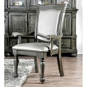 FUSA Alpena Arm Chair - Item Number: CM3350GY-AC-2PK
