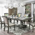 FUSA Alpena Dining Table - Item Number: CM3350GY-T-TABLE