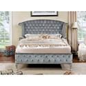 FUSA Alzir King Bed - Item Number: CM7150EK-BED