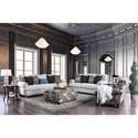 FUSA Amani Stationary Living Room Group - Item Number: SM8120 Living Room Group